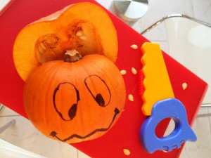Nossa abóbora de Halloween